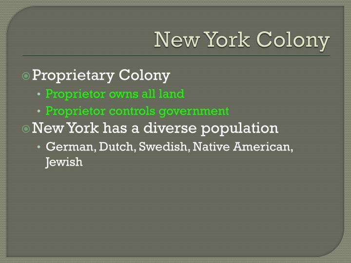 New York Colony
