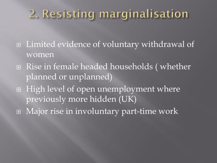 2. Resisting