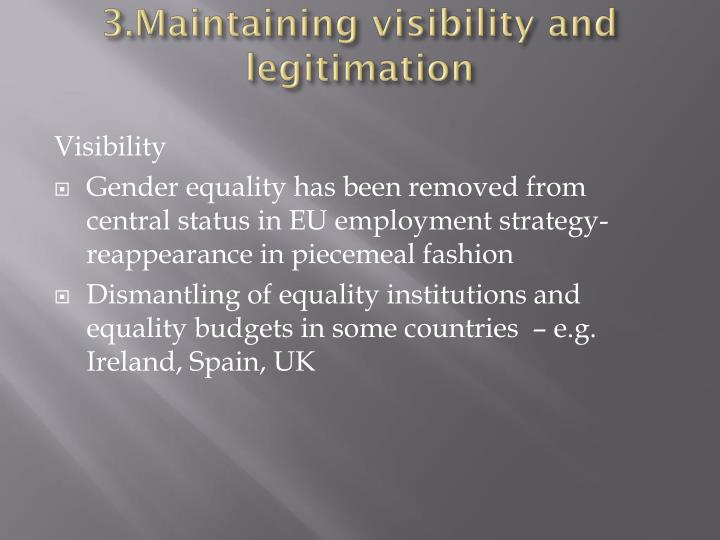 3.Maintaining