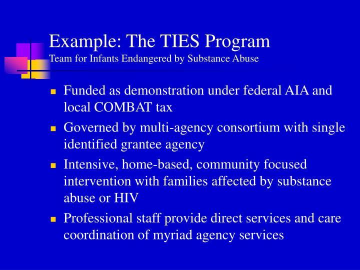 Example: The TIES Program