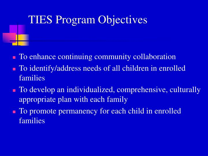 To enhance continuing community collaboration
