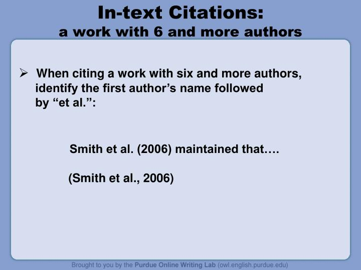 how do you cite a thesis apa This guide was created as a joint project of the academic resource center and the william h hannon library.