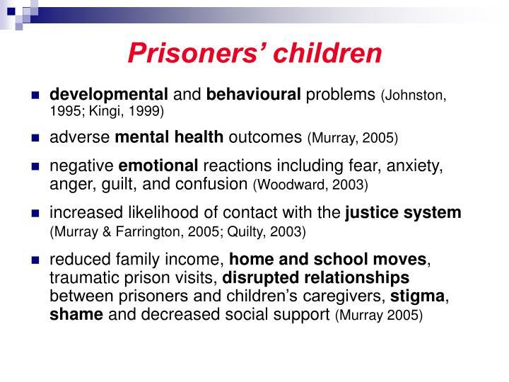 Prisoners' children