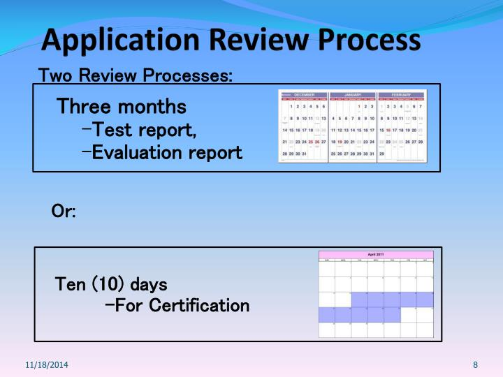 Two Review Processes: