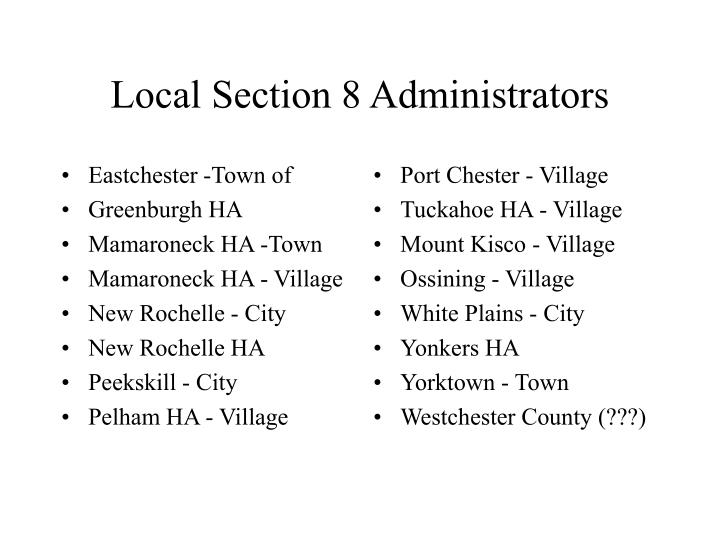 Eastchester -Town of
