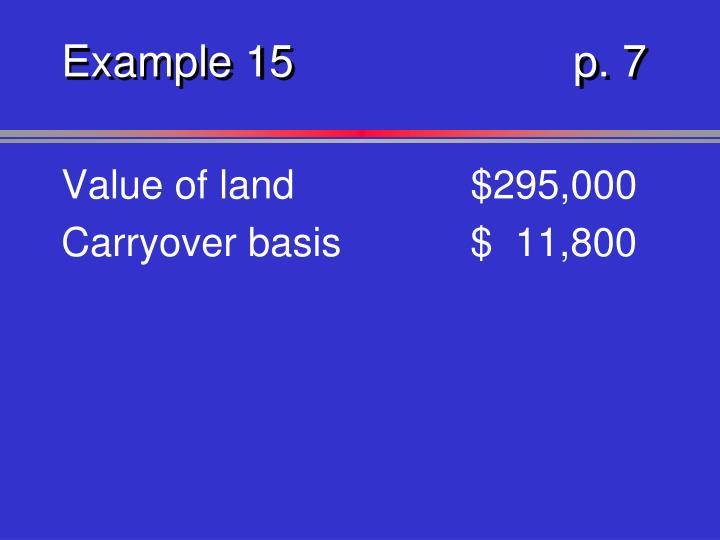 Example 15p. 7