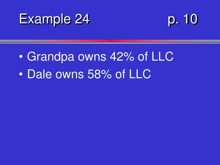 Example 24p. 10