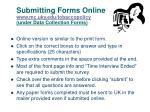submitting forms online www mc uky edu tobaccopolicy under data collection forms