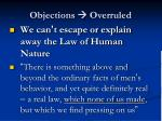 objections overruled