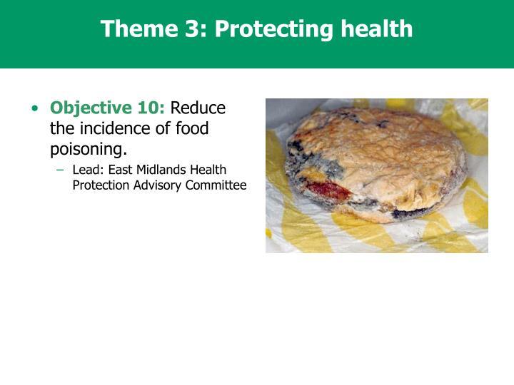 Theme 3: Protecting health