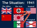 the situation 1941