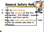 general safety rules2