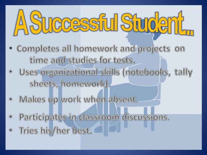 A Successful Student...