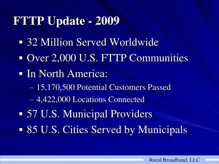 32 Million Served Worldwide