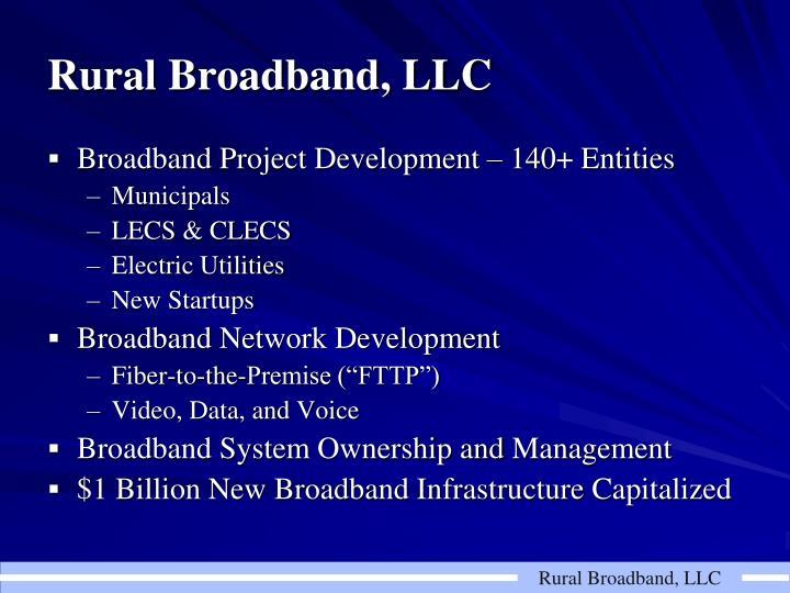 Rural broadband llc