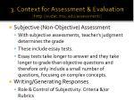 3 context for assessment evaluation http vudat msu edu assessment1