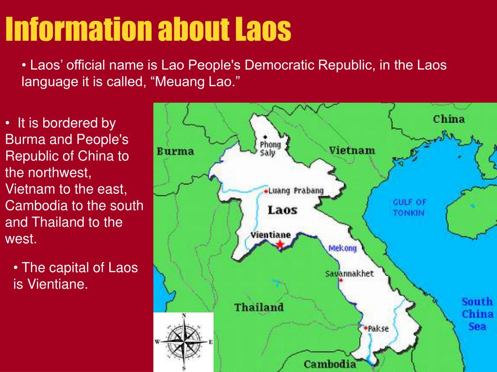 PPT - Welcome to Laos Land of a Million Elephants PowerPoint