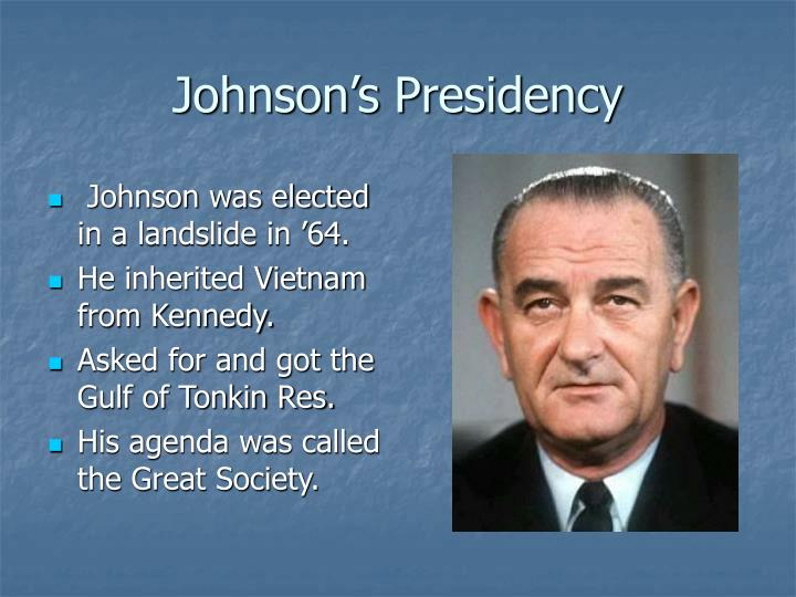 Johnson s presidency