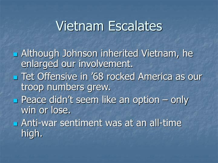 Vietnam Escalates