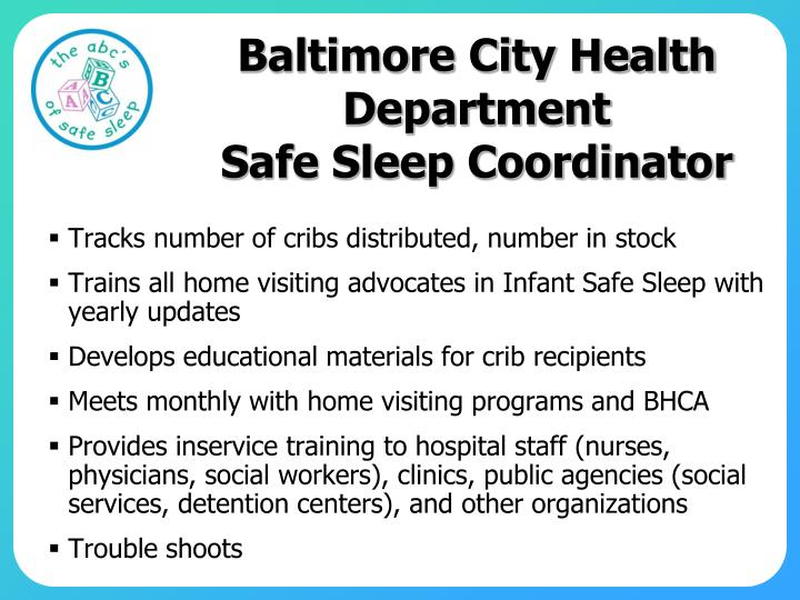 Baltimore City Health Department