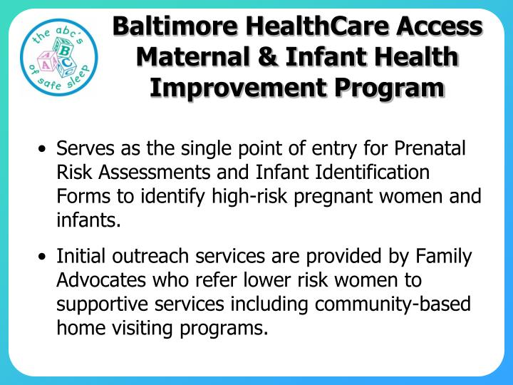 Baltimore HealthCare Access