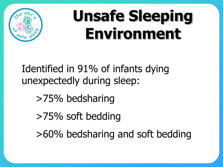 Unsafe Sleeping Environment