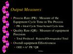 output measures2