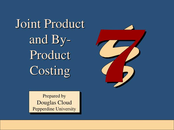 cost allocation joint products and byproducts This recording covers joint products and by-product costing (byproduct costing) where cost allocated at split off point using relative sales value or net realizable value joint products and byproducts costing.