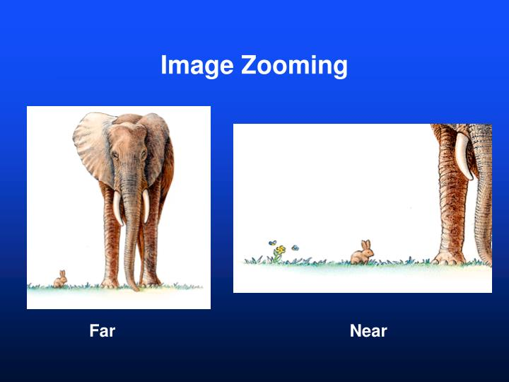 Image Zooming