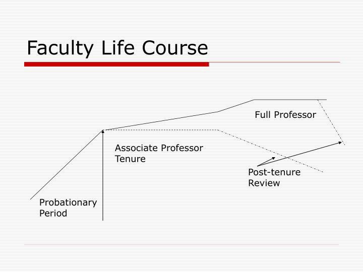 Faculty Life Course