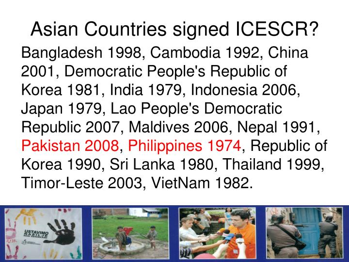 Asian Countries