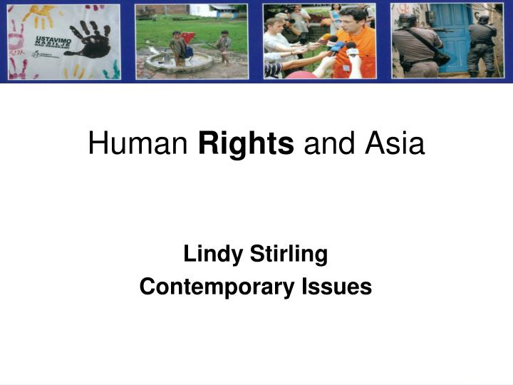 Human rights and asia