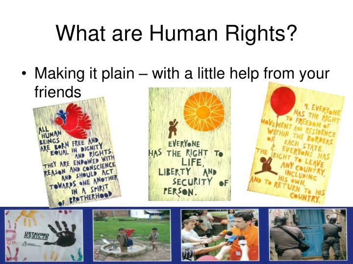 What are human rights1
