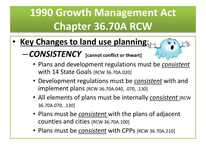 1990 Growth Management Act