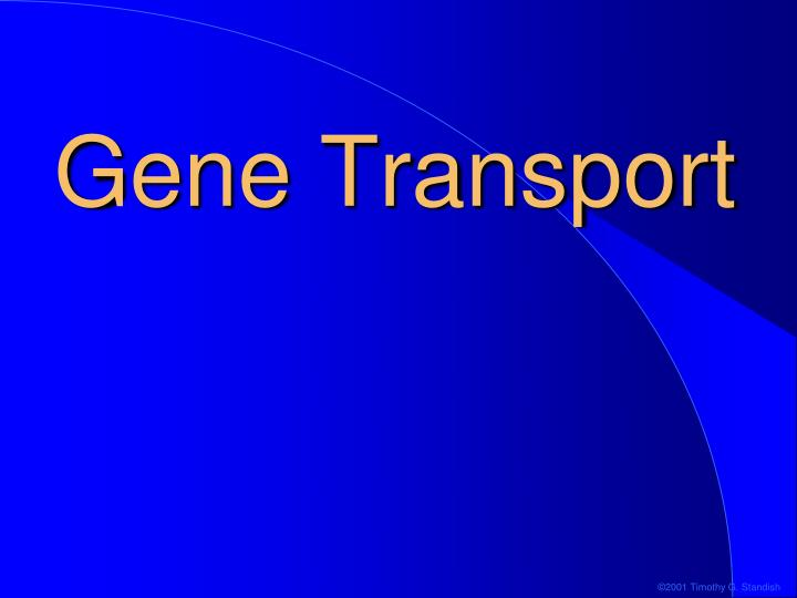 Gene Transport