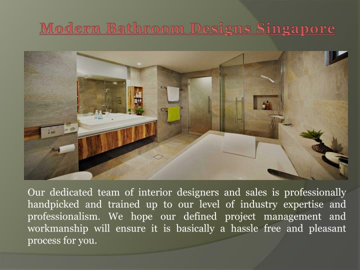 Ppt bathroom renovation package singapore powerpoint presentation id 6805805 Modern bathroom design singapore