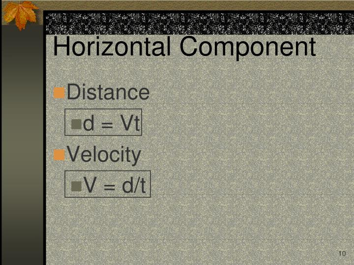 Horizontal Component