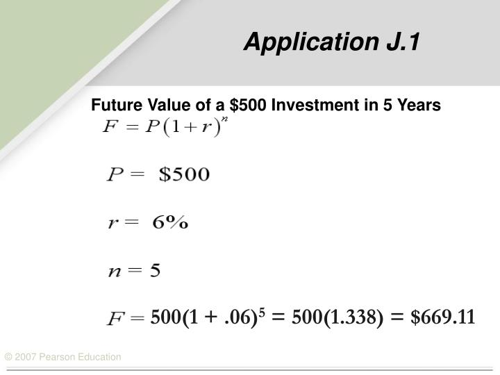 Application j 1