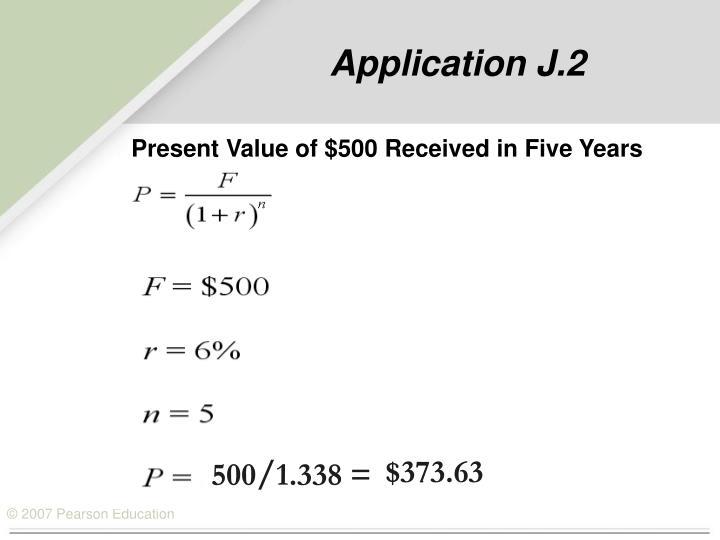 Application J.2