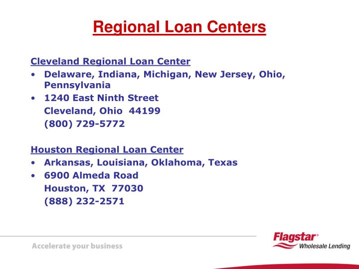 Cleveland Regional Loan Center