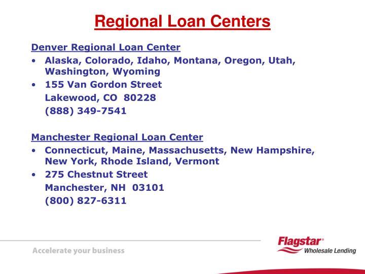 Denver Regional Loan Center