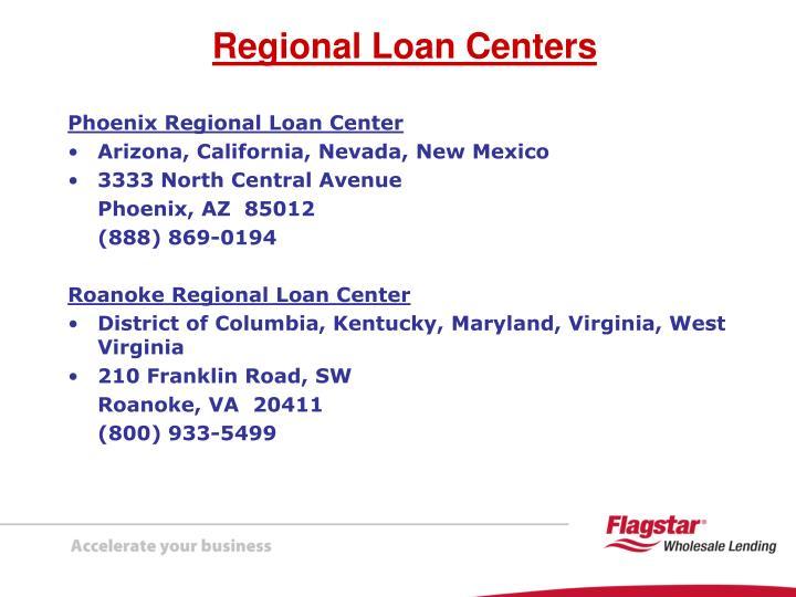 Phoenix Regional Loan Center