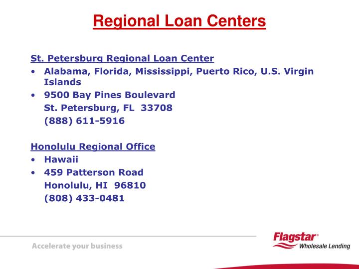 St. Petersburg Regional Loan Center
