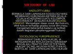 sociology of law