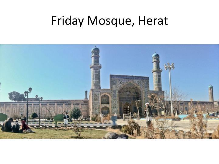 Friday Mosque, Herat