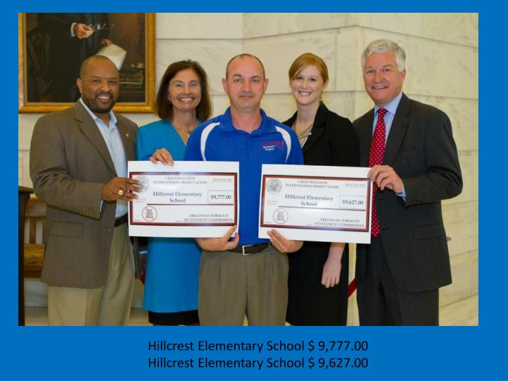 Hillcrest Elementary School $ 9,777.00