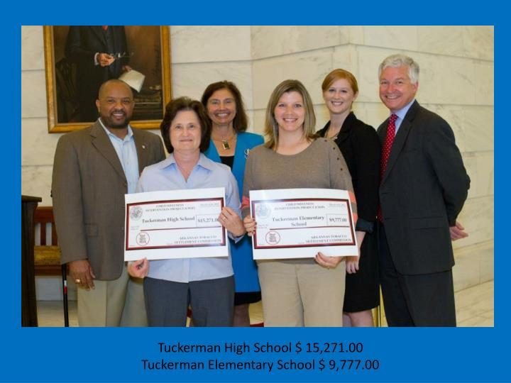 Tuckerman High School $ 15,271.00