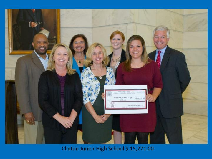 Clinton Junior High School $ 15,271.00