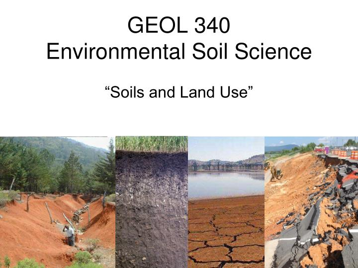 why is soil conservation important environmental sciences essay Integration of soil conservation is important ( douglas 1988 shaxson 1988) adoption of soil conservation technology is assured if the farmers have full understanding, support and participation in all the stages of the project, from planning, implementation to maintenance (harper and el-swaify.