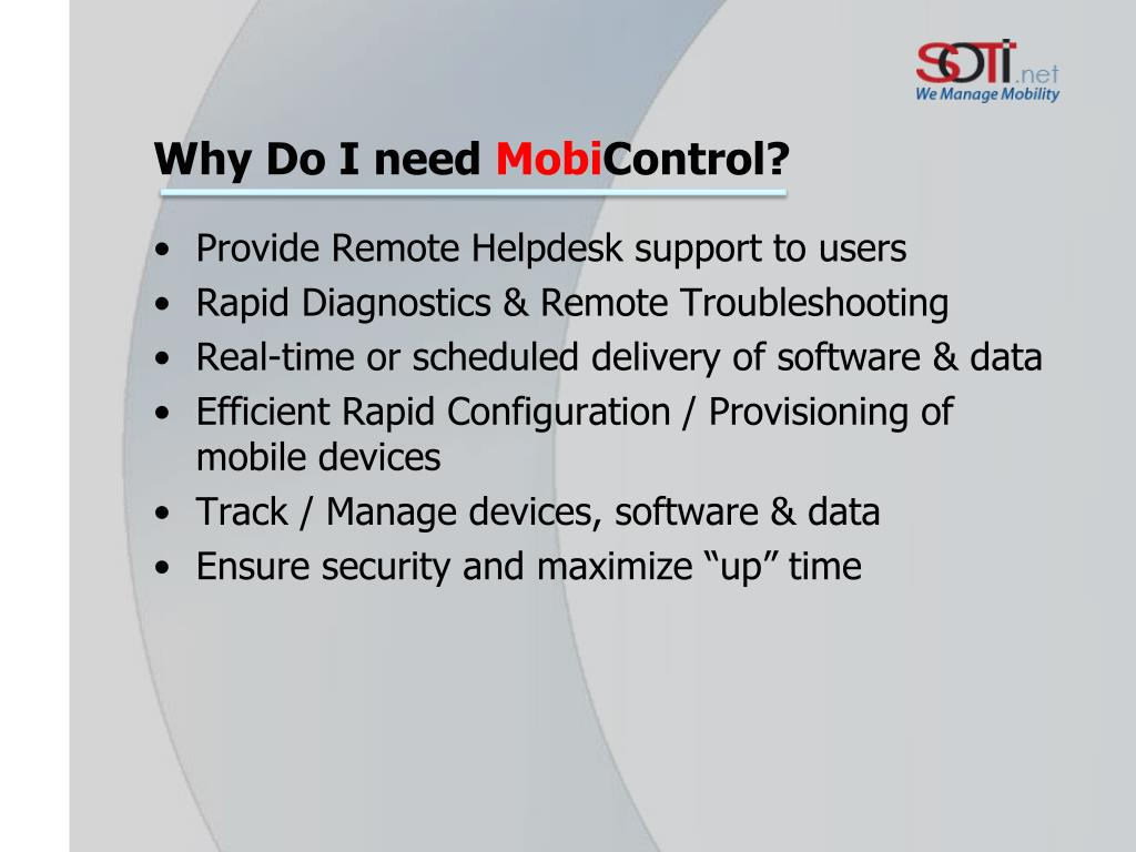 PPT - MOBILE DEVICE MANAGEMENT PowerPoint Presentation - ID:6808066